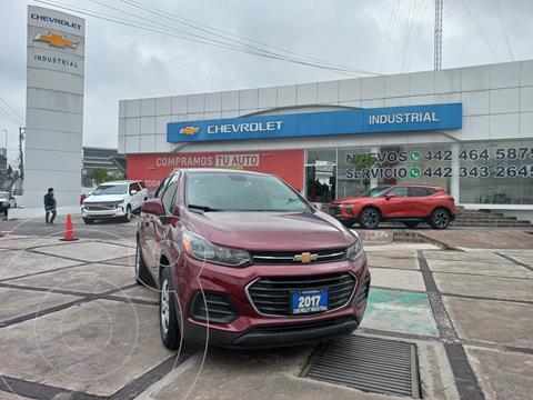 Chevrolet Trax LS usado (2017) color Rojo Tinto precio $229,000