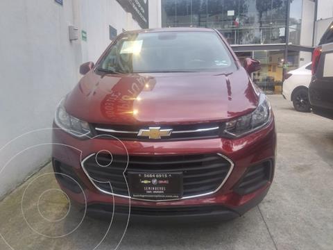 Chevrolet Trax LS usado (2017) color Rojo Tinto financiado en mensualidades(enganche $43,980 mensualidades desde $4,984)