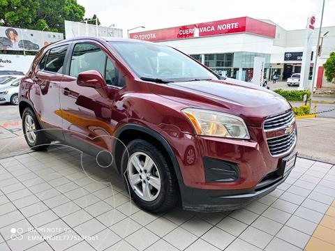 Chevrolet Trax LT usado (2015) color Rojo Tinto precio $189,900