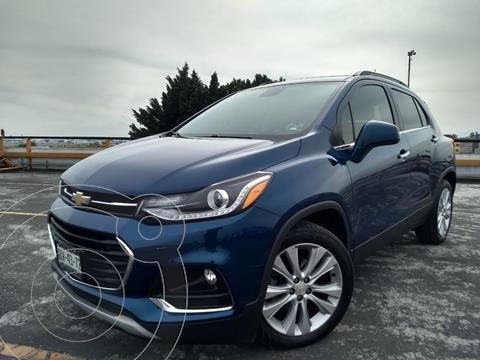 Chevrolet Trax Premier Aut usado (2020) color Azul Oscuro financiado en mensualidades(enganche $75,000 mensualidades desde $7,602)