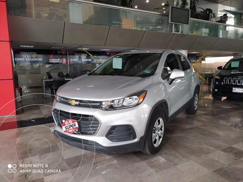 Chevrolet Trax LS usado (2017) color Plata Dorado precio $267,000