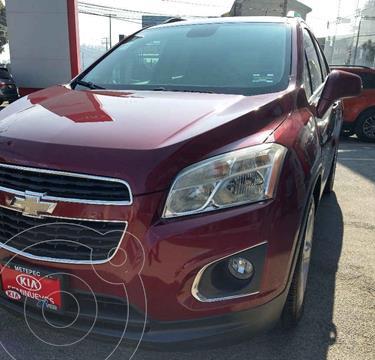 Chevrolet Trax LTZ usado (2015) color Vino Tinto precio $194,900