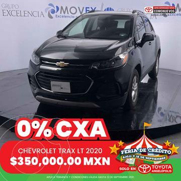 Chevrolet Trax LT usado (2020) color Negro precio $330,000