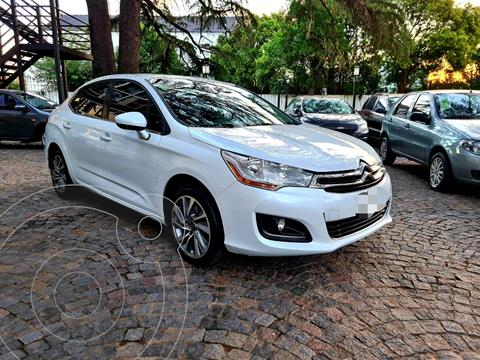 Citroen C4 Lounge 1.6 Tendance Aut usado (2015) color Blanco financiado en cuotas(anticipo $980.000)