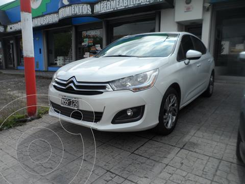 Citroen C4 Lounge 1.6 Tendance Aut usado (2014) color Blanco Banquise financiado en cuotas(anticipo $625.000)
