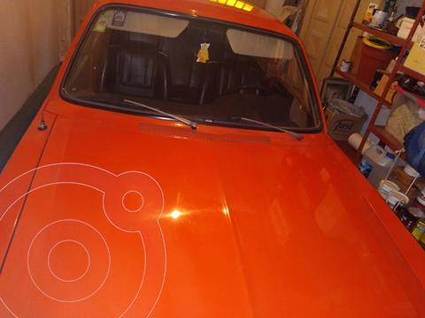 Dodge 1500 -4L 8v usado (1982) color Naranja Metalico precio u$s5.000