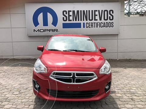 Dodge Attitude SXT usado (2020) color Rojo Cobrizo precio $220,000