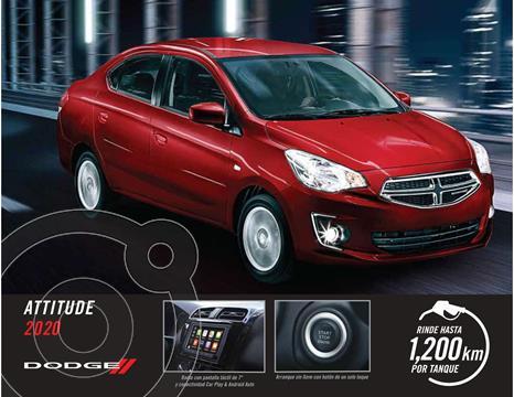 Dodge Attitude SXT usado (2020) color Plata Dorado precio $232,900