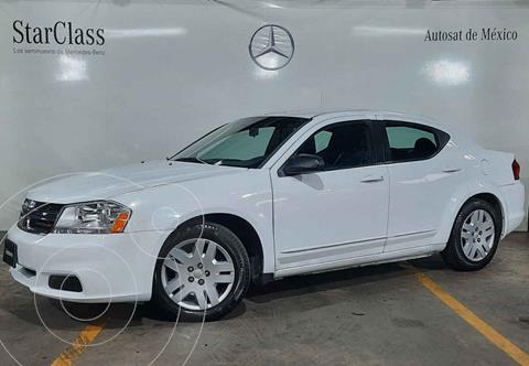 Dodge Avenger SE 2.4L Aut  usado (2013) color Blanco precio $109,900