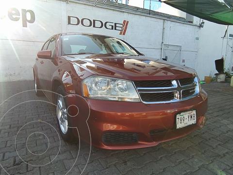 Dodge Avenger SXT 2.4L Aut usado (2012) color Naranja precio $120,000