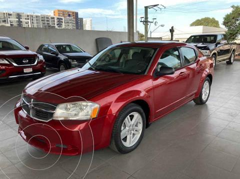 Dodge Avenger SXT 2.4L Aut usado (2008) color Rojo precio $115,000