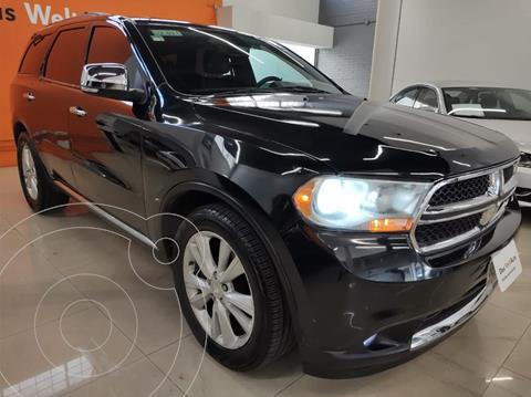 Dodge Durango 3.6 CREW LUXE V6 4X2 usado (2012) color Negro precio $285,000