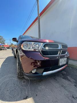 Dodge Durango 3.6L Crew Luxe 4x2 V6 usado (2012) color Rojo precio $245,000