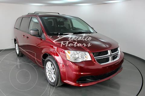Dodge Grand Caravan SXT usado (2018) color Rojo precio $339,000