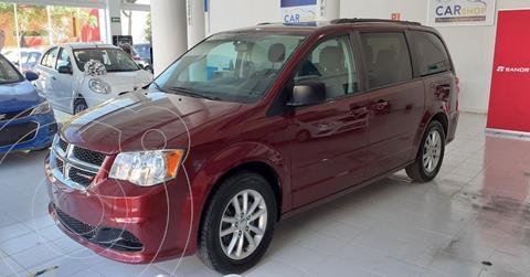 Dodge Grand Caravan SXT+ usado (2017) color Rojo precio $229,000
