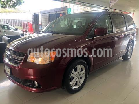 Dodge Grand Caravan SXT+ usado (2018) color Rojo Cobrizo precio $390,000
