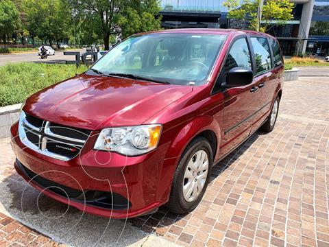 Dodge Grand Caravan SE usado (2017) color Rojo Cerezo precio $269,000