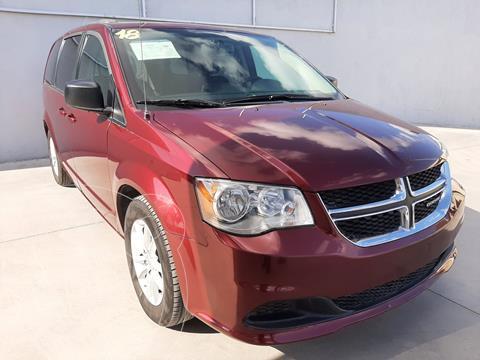 Dodge Grand Caravan SXT usado (2018) color Rojo precio $399,900