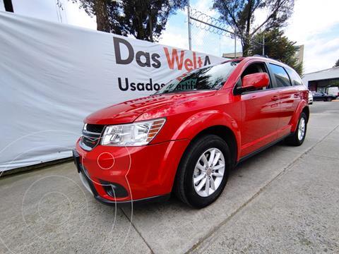 Dodge Journey SXT 5 PAS 2.4L DOHC 173HP AT AUTOSTICK usado (2015) color Rojo precio $240,000