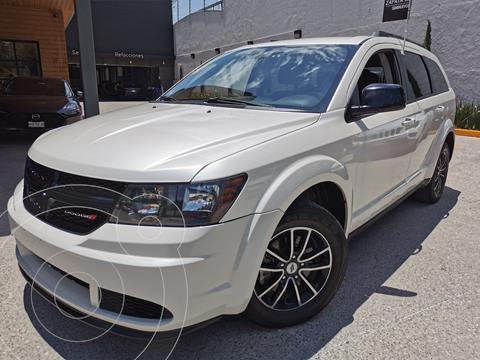 Dodge Journey SE 2.4L usado (2018) color Blanco Perla financiado en mensualidades(enganche $69,750 mensualidades desde $6,600)