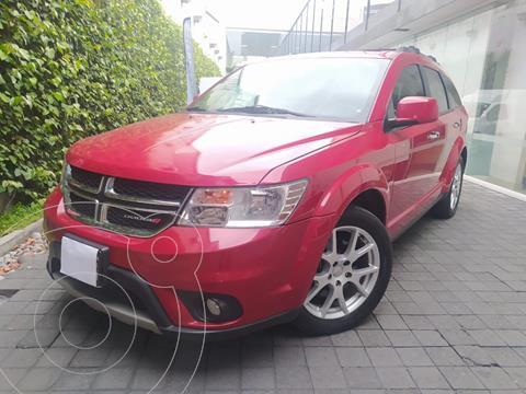 Dodge Journey R-T 3.6L usado (2012) color Rojo precio $210,000