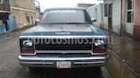 Dodge ram van transpote publico usado (1978) color Azul precio u$s1.600