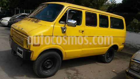 Dodge ram van transpote publico usado (1979) color Naranja precio u$s2.500
