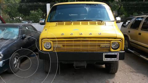 Dodge ram van transpote publico usado (1977) color Naranja precio u$s1.850