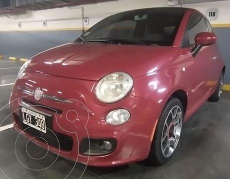 FIAT 500 Sport usado (2012) color Rojo Corsa precio $1.450.000