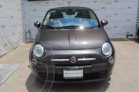 Fiat 500 Pop usado (2016) color Gris precio $165,000