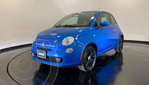 Fiat 500 Easy usado (2016) color Azul precio $187,999