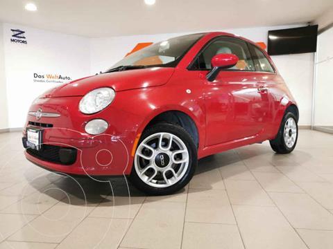 Fiat 500 Pop Aut usado (2013) color Rojo precio $185,000