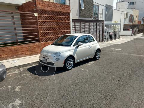 Fiat 500 Pop Aut usado (2012) color Blanco Perla precio $112,000