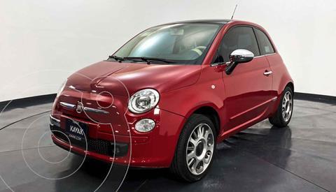 Fiat 500 Lounge Aut usado (2011) color Rojo precio $117,999