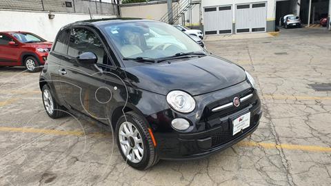 Fiat 500 Easy usado (2016) color Negro precio $172,000