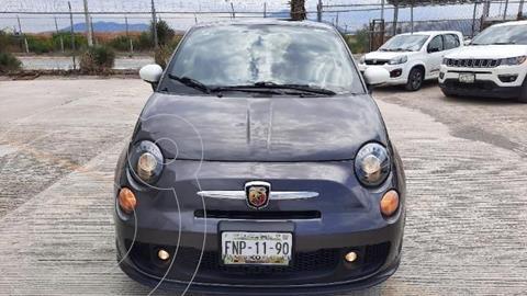 Fiat 500 Abarth usado (2018) color Gris precio $458,000