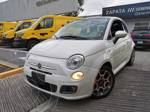 Fiat 500 Sport usado (2014) color Blanco precio $160,000