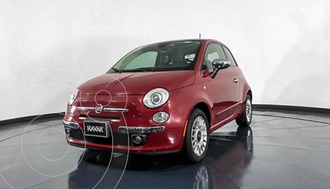 Fiat 500 Lounge Aut usado (2013) color Rojo precio $162,999