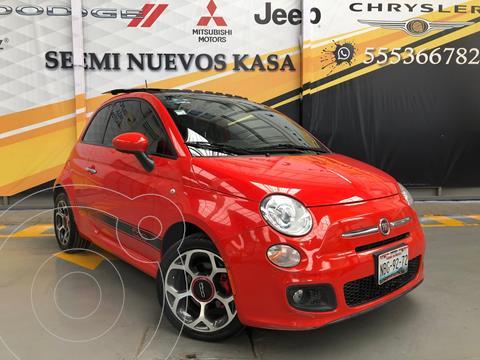 Fiat 500 Lounge usado (2017) color Naranja precio $225,000