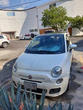 Fiat 500 Sport Aut usado (2015) color Blanco Perla precio $170,000