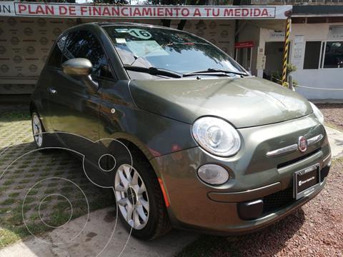 Fiat 500 Easy usado (2015) color Verde Oliva precio $235,000