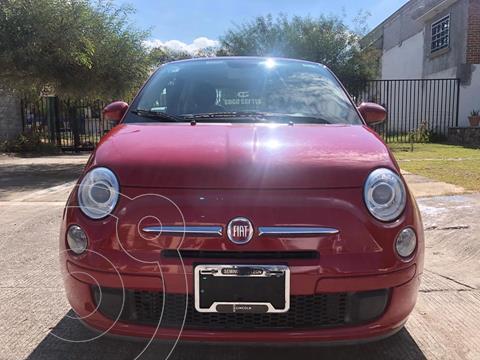 Fiat 500 Pop usado (2013) color Rojo precio $120,000