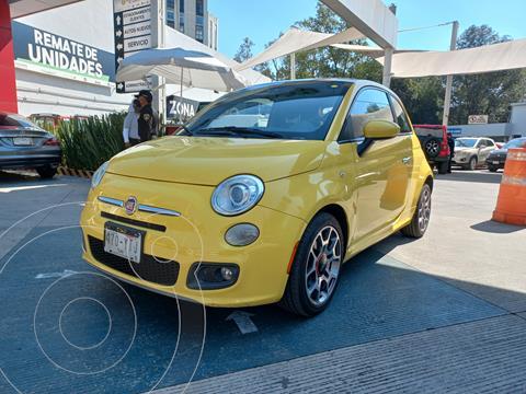 Fiat 500 Sport usado (2013) color Amarillo precio $190,000