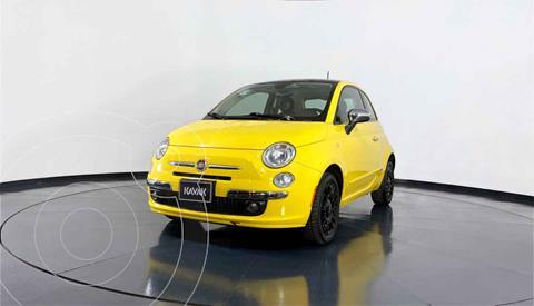 Fiat 500 Lounge Aut usado (2012) color Amarillo precio $147,999