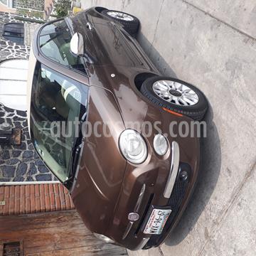 Fiat 500 Lounge Convertible usado (2012) color Espresso precio $155,000