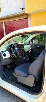 Fiat 500 Pop Aut usado (2014) color Blanco Perla precio $140,000