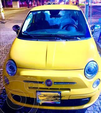 Fiat 500 Pop Aut usado (2014) color Amarillo precio $150,000