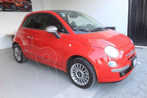 Fiat 500 Lounge usado (2016) color Rojo precio $229,000