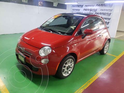 Fiat 500 Trendy Aut usado (2015) color Rojo precio $150,000