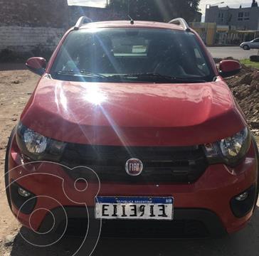 FIAT Mobi Way usado (2017) color Rojo precio $1.200.000